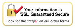 SSL Guaranteed Secure Sticker